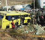 رییس مرکز اطلاعات و کنترل ترافیک پلیس راهور ناجا: علت حادثه اتوبوس دانشگاه آزاد در دست بررسی است
